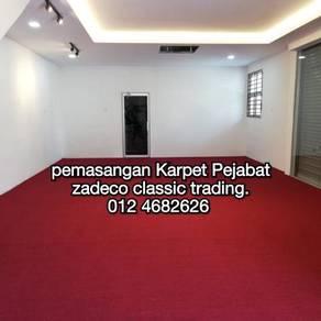 Karpet pejabat install