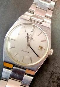 Jam Swiss Omega Geneve Automatic Steel Watch