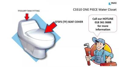 INAX / OFIA Seat Cover & Tank Fittings