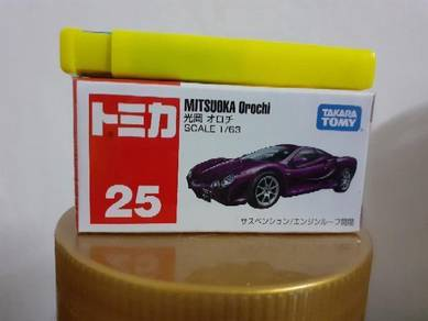 EEQ Tomica Mitsuoka Orochi not hot wheels