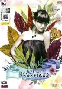 DVD AGNES MONICA The Best of Vol.1 MTV Karaoke