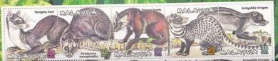 Mint Stamp Mammals Civet Cat 2000