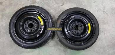 Honda Civic EK9 Type R Spare Tyre 5 Lug pcd 114