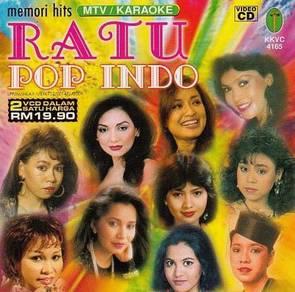 VCD Memori Hits Ratu Pop Indo Karaoke 2VCD