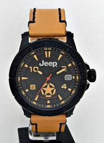 JEEP Spirit Men Date Leather Watch JPC31403
