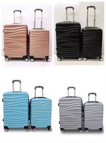 New abs material travel luggage bag