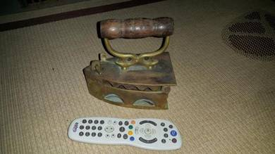 Vintage Seterika tembaga lama
