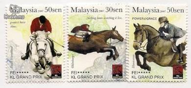 Mint Stamp FEI KL Grand Prix Malaysia 2007
