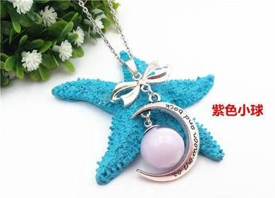 Breastmilk DIY Necklace (Moon)