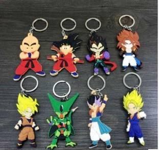 Dragon ball key chain 1 set