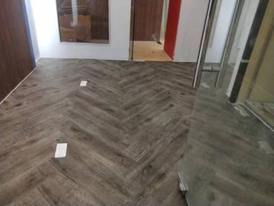 Vinyl flooring carpet tiles