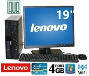 Lenovo Think Center M58 19 LCD Ofis PC 4GB D3 Win7