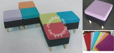 Colour Wooden Stool