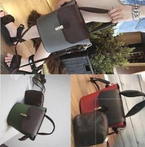BW5423 Retro Shoulder Bucket Bag
