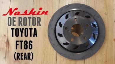 Nashin OE High Carbon Disc Rotor Toyota FT86 BRZ