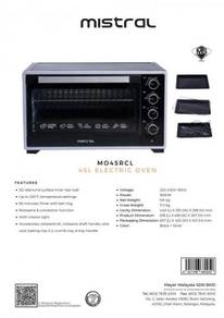 Mistral MO45RCL Oven 45L
