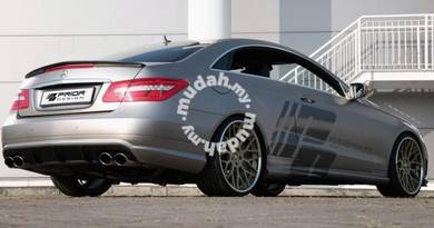 Mercedes W207 Coupe AMG Carbon Fiber Boot Spoiler