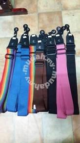 Guitar Strap (Black, Brown, Blue, Rainbow)