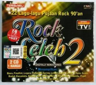 CD Rock Leleh 2 Pujaan Rock 90´an Qiara Finalist