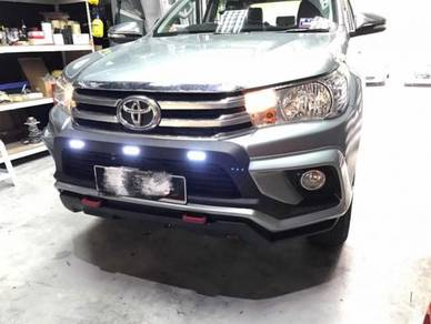 Rbs bodykit toyota hilux revo WITH LED AND PAINT