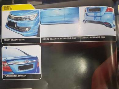 Perodua Bezza Abs bodykit without painting