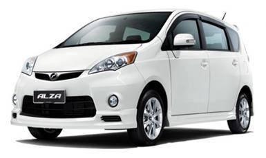 Perodua alza se oem bodykit with spoiler n paint