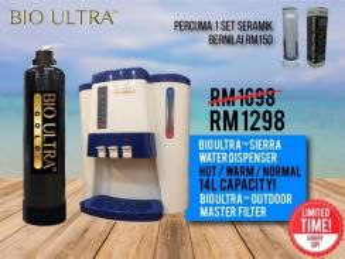 Pakej Sierra Penapis Air Water Master Filter KD6