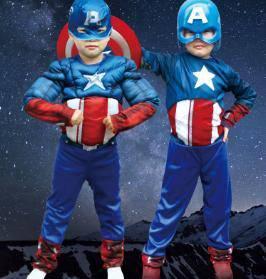 Captain america kid costume 3 cosplay