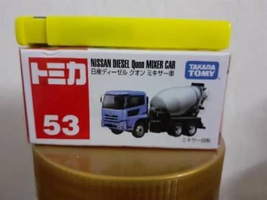 EEQ Tomica Nissan mixer car not hot wheels