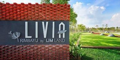 BRAND NEW Livia Rimbayu Bandar Rimbayu Kota Kemuning