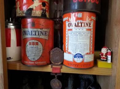 Antik 2 Tin Ovaltine Lama