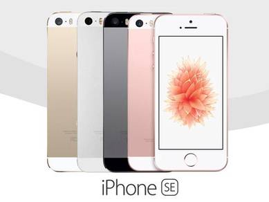 IPhone SE Space Grey/Silver/Gold/ROSE Original Set