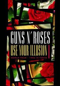 IMPORTED DVD Guns N´ Roses Use Your Illusion I