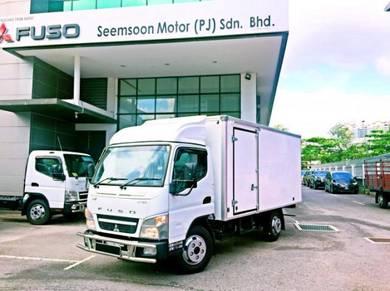 Mitsubishi Fuso FE71PB Box Truck Hino Isuzu