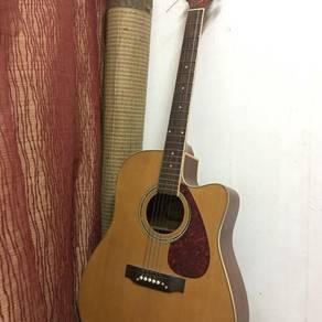 Guitar techno semi-acoustic