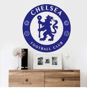 Chelsea poster blue biru