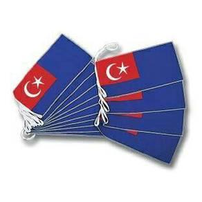 20Ft Bunting Johor (Johor Flag Line)