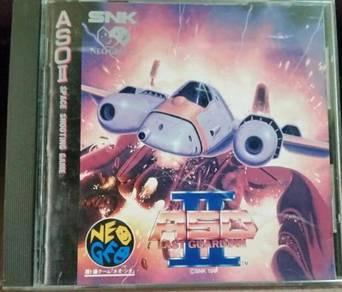 SNK NeoGeo CD ASO II Last Guardian
