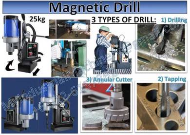 Magnetic Drill 25kg Quality 2019 Drill Press Bench