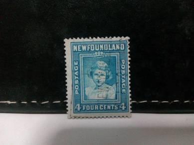 1938 Newfoundland Stamp Queen Elizabeth II