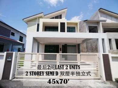 New 2 Storey Semi D at Taman Perak Permai