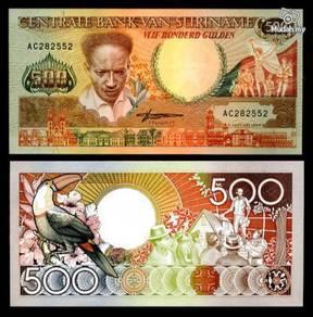 Suriname 500 gulden 1988 p 135 unc