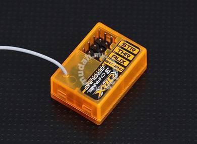 OrangeRx GR300 DSM2 compatible 3Ch 2.4Ghz Ground R