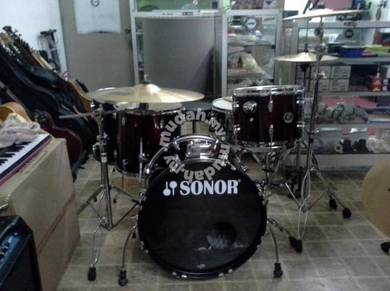 Penyewaan Sonor Drum Set