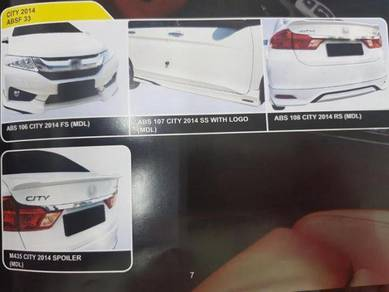 Honda city 2014 abs bodykit without paint