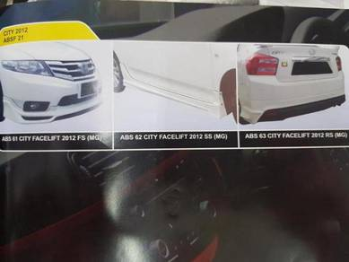 Honda city 2012 abs bodykit without paint