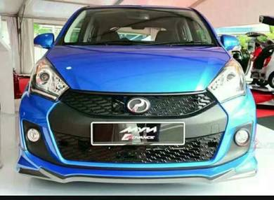 Perodua myvi se icon gaer up bodykit with paint