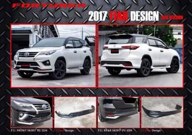 Toyota fortuner fiar FIAR bodykit with paint pu