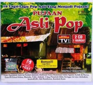 CD Pujaan Asli Pop Dato Syarifah Aini & Fadzil Ahm