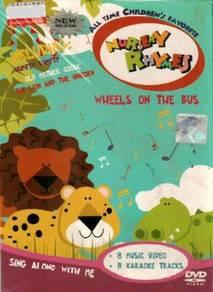 DVD Nursery Rhymes Wheels On The Bus